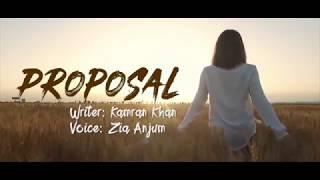 PROPOSAL | Heart Touching Urdu Lines | Kamran Khan | Zia Anjum