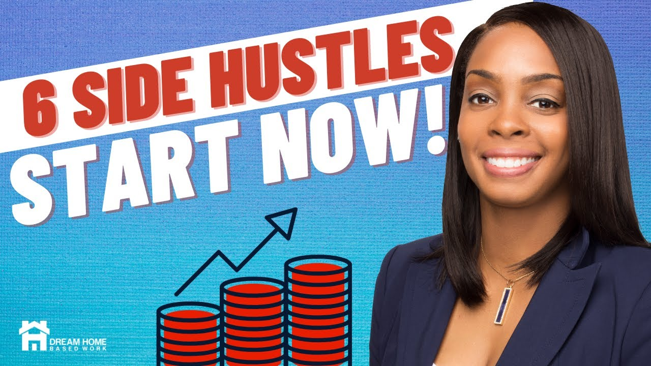 6 Easy Side Hustles You Can Do To Make Money Online TODAY!