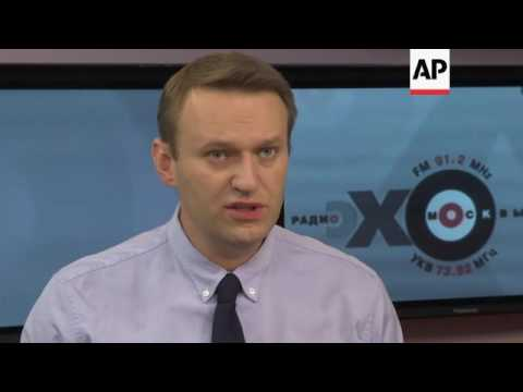 Russia's Navalny outlines policy ideas