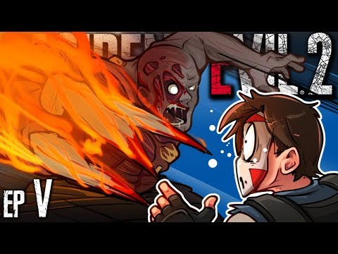 Resident Evil 2 - X GONNA GIVE IT TO ME?! (LAST LEON EPISODE) Ep. 5