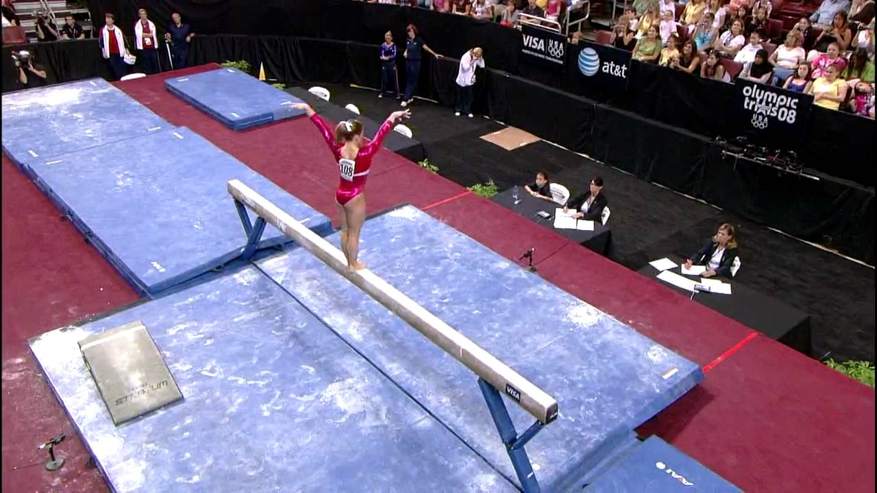 Shawn Johnsons Olympic Floor Event Finals - YouTube