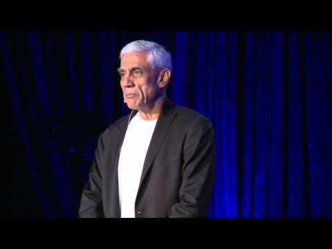 Vinod Khosla at TEDxSF (7 Billion Well)
