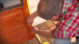 Screen Tight Wood Screen Door Painting Instructional Video