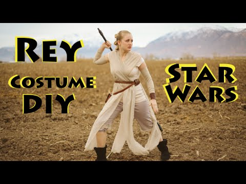 Rey costume diy star wars the force awakens youtube rey costume diy star wars the force awakens solutioingenieria