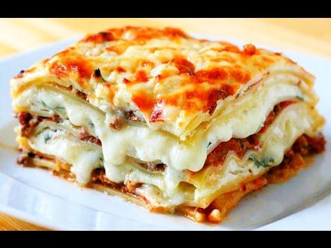 Как приготовить лазанью с сыром