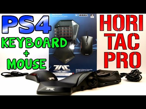 MOUSE AND KEYBOARD ON PS4 - Hori Tac Pro Review (New Firmware Update)