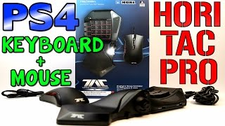 MOUSE AND KEYBOARD ON PS4 – Hori Tac Pro Review (New Firmware Update)