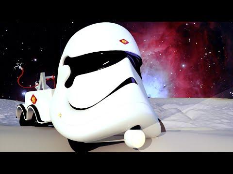 Star Wars Special : Carl är en Stormtrooper-lastbil - Superlastbilen Carl i Bilköping 🚚 ⍟