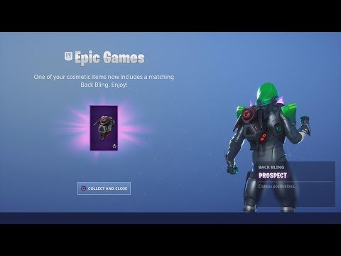 EPIC GAMES/FORTNITE GAVE ME *NEW* FREE REWARD ITEMS TODAY!!
