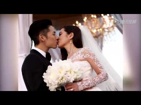 吴建豪婚礼现场照曝光 与新娘幸福拥吻