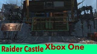 Fallout 4 Xbox Mods|Raider Castle