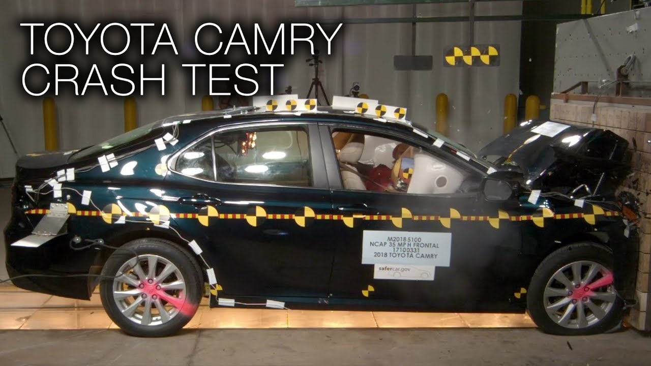 Toyota Camry 2018 Frontal Crash Test