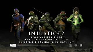TMNT, Atom & Enchantress - Injustice 2 Fighter Pack 3 Trailer