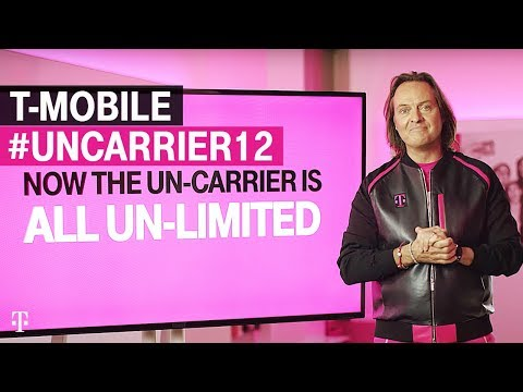 Hello #Uncarrier12 ... R.I.P. Data Plans - @TMobile changes the industry again