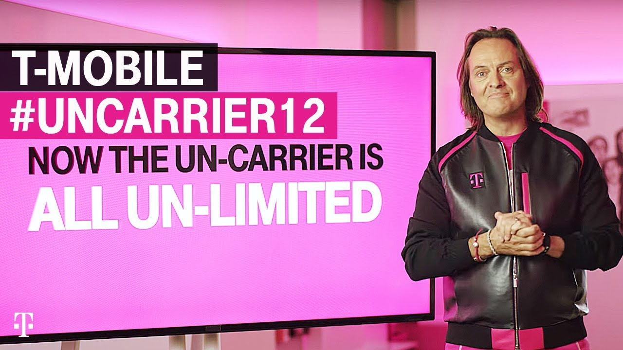 Hello Un-carrier 12     R I P  Data Plans T-Mobile Goes All In on