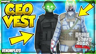 GTA 5 Online How To Get Any CEO VEST GLITCH 1.50 CEO OUTFITS