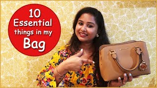 10 Things a Woman Must Carry in Her Bag || Handbag Essentials