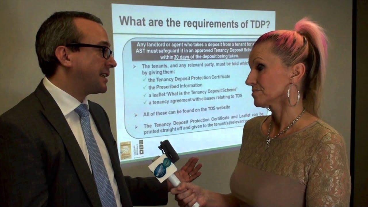 Interview With Tds The Tenancy Deposit Scheme Youtube
