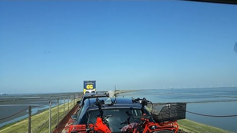 Mitfahrt auf dem SyltShuttle von Niebüll nach Westerland(Sylt) [volle Länge]
