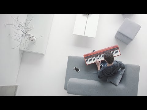Play along with your favorite songs: Roland GO:KEYS Music Creation Keyboard