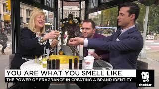 Cheddar.com interviews Sue Phillips re Custom Perfumes