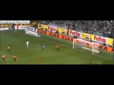 Edin Dzeko first 3 goals in Bundesliga 2010-2011