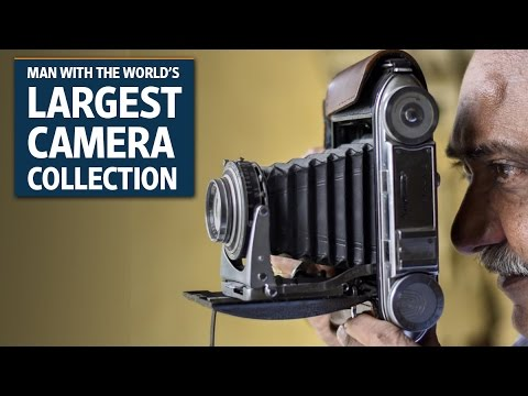 Dilish Parekh - The man with the world's largest antique camera collection