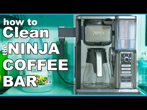 BEST way to Clean the Ninja Coffee Bar
