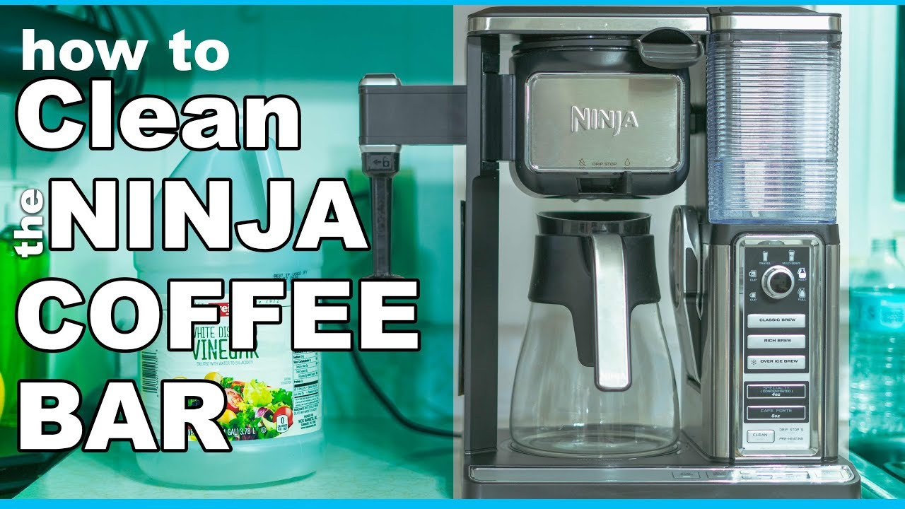 BEST way to Clean the Ninja Coffee Bar - YouTube