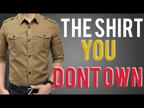 Military Shirt Style: How To Style And Why You Should Own One