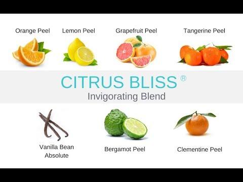 Citrus Bliss Invigorating Blend Online Class