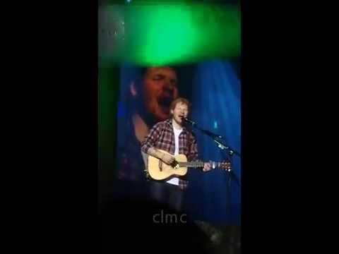 Ed Sheeran - The A Team Live Manila