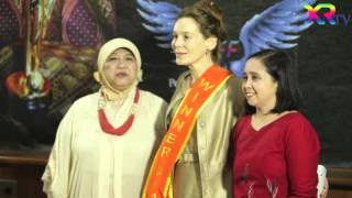 Alice Krige Bintang Film Star Trek Sambangi IFFPIE di Jakarta