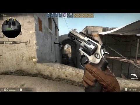 CS:GO NEW R8 REVOLVER PISTOL ANIMATIONS & GAMEPLAY [12/5/15 Update]