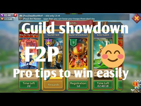 Guild Showdown Tip's & Tricks Lords Mobile By I Am Naveen