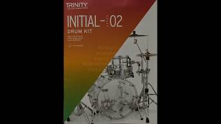 Trinity 2020 drum part for the track 'On The Right Foot'