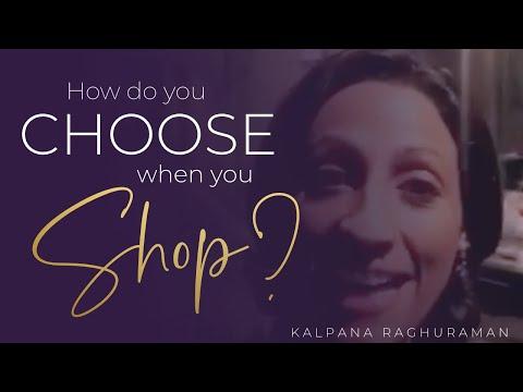 How do you choose when you shop?