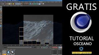 Cinema 4D - Animación y Creación de osceano
