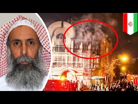 Shiite vs Sunni: Protesters storm Saudi embassy in Tehran after Nimr al-Nimr's execution - TomoNews