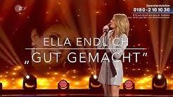 """Ella Endlich singt für Francine Jordi """"Gut gemacht"""" bei (Willkommen bei Carmen Nebel) 29.9.2018"""