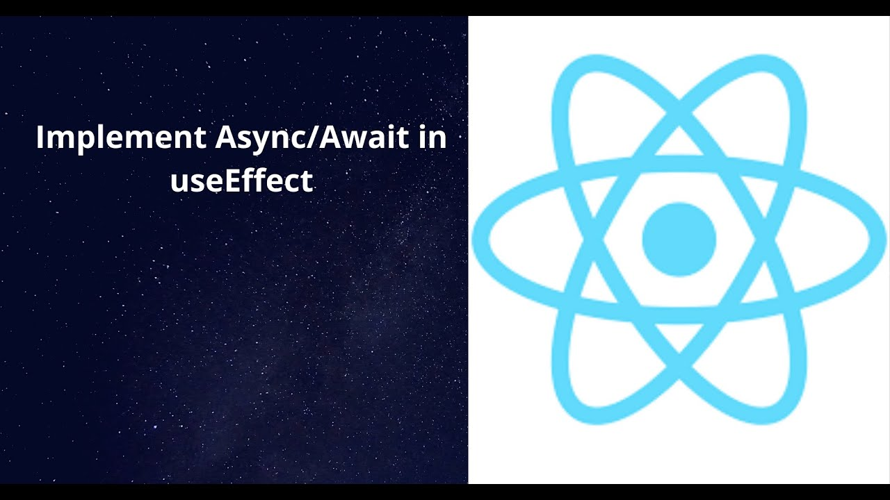 Implement Async/Await in React Hooks (useEffect + axios)