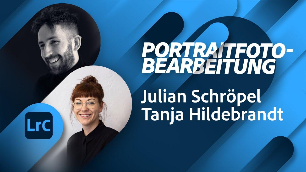 Portraitfotografie mit Julian Schröpel |Adobe Live