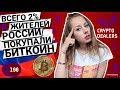 Причина роста крипто рынка? Всего 2% жителей России покупали BITCOIN