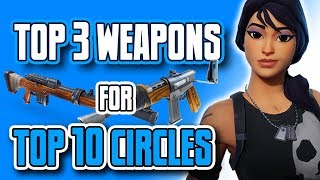 Fortnite Battle Royale Tips: TOP 3 Weapons That Will Carry You to TOP 10 - Fortnite Tips