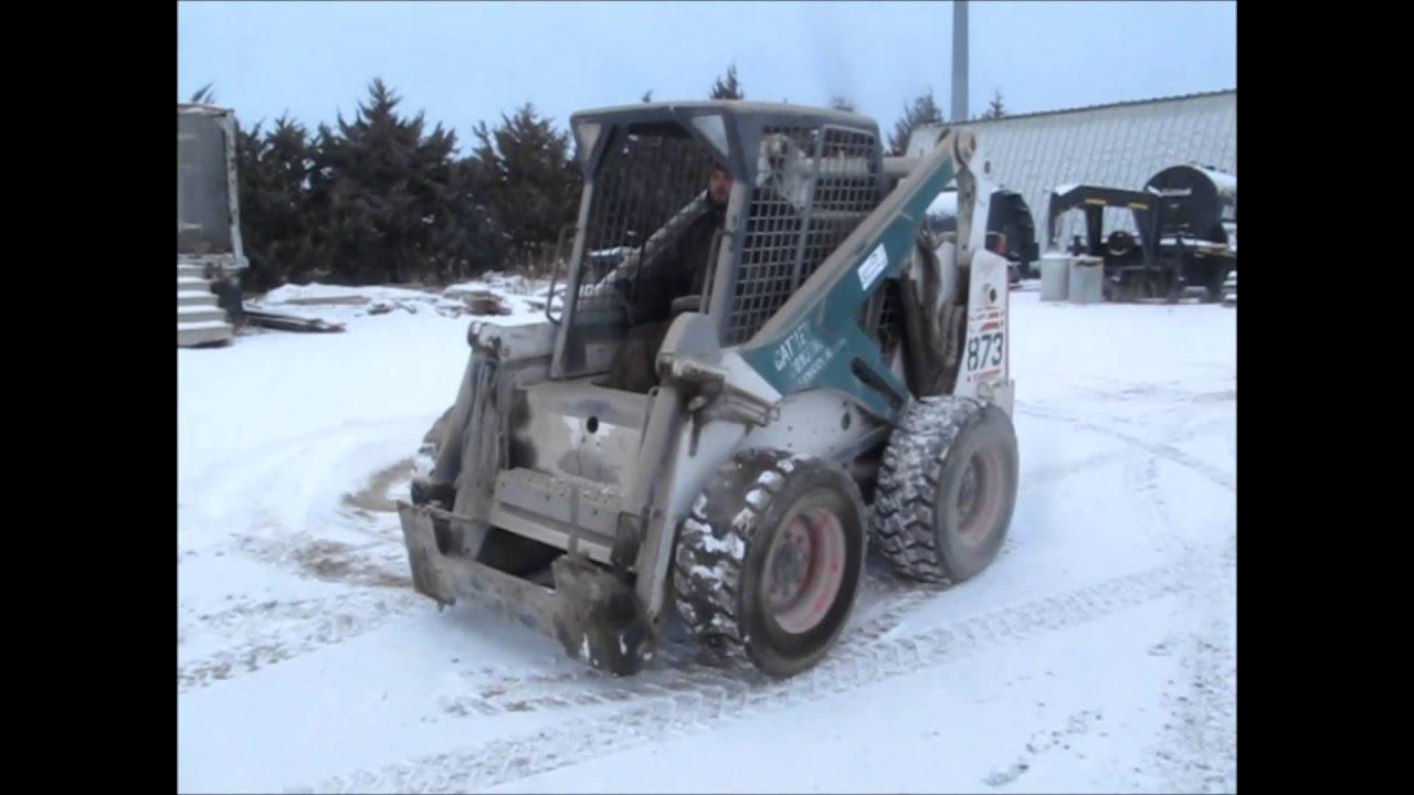 873 bobcat engine - 2000 Bobcat 873g Skid Steer For Sale Sold At Auction March 13 2014