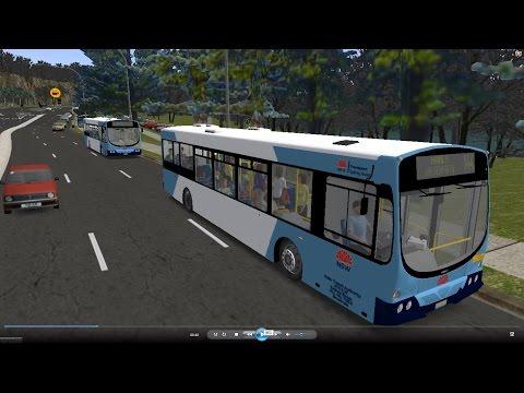 Omsi 2 tour (629) Sydney bus 144 Mosman Junction - Manly Wharf Gilbert Park @ Volvo B7L 澳洲 悉尼