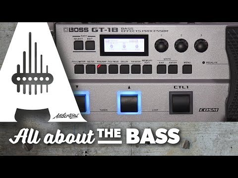 Who's the Bass Boss? The GT-1B is!!!
