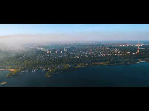 Xiaomi Mi Drone 4K: Cinematic flight around Cherkasy, Ukraine
