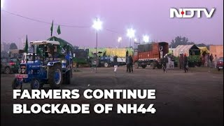 Farmers Protest: Delhi-Sonipat Highway Remains Blocked For 4th Day Amid Farmers' Protests