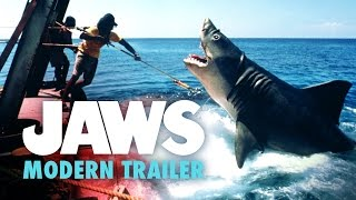 Jaws Modern Trailer Recut (2015) - 40th Anniversary Fan Edit HD